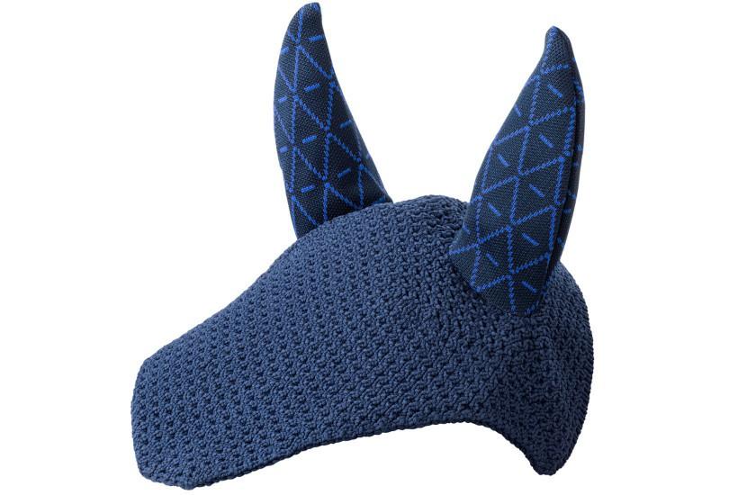 Tacante Bonnet INFI KNIT marine allover bleu roi face