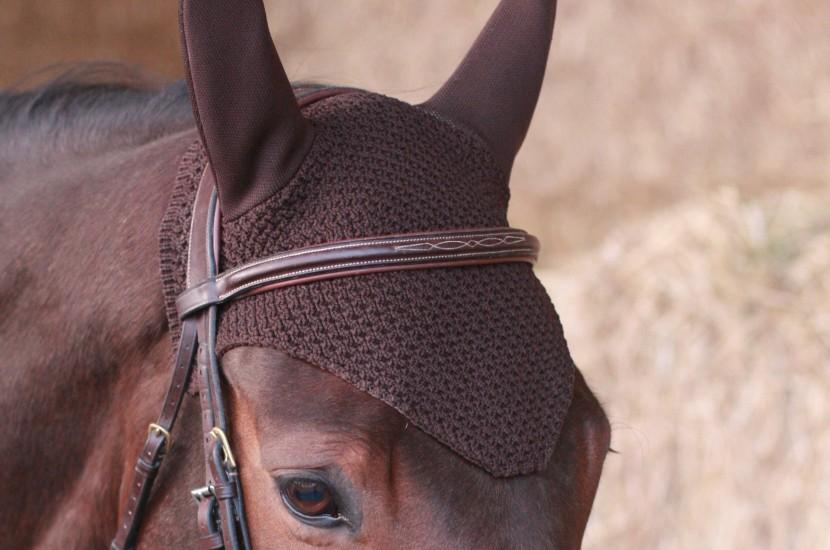 Tacante Bonnet INFI KNIT marron A porté jaune