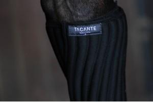 Tacante Flanelles sous bandes INFI-KNIT noir porté