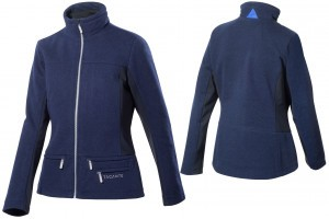 Tacante Veste Hygge bleu marine femme