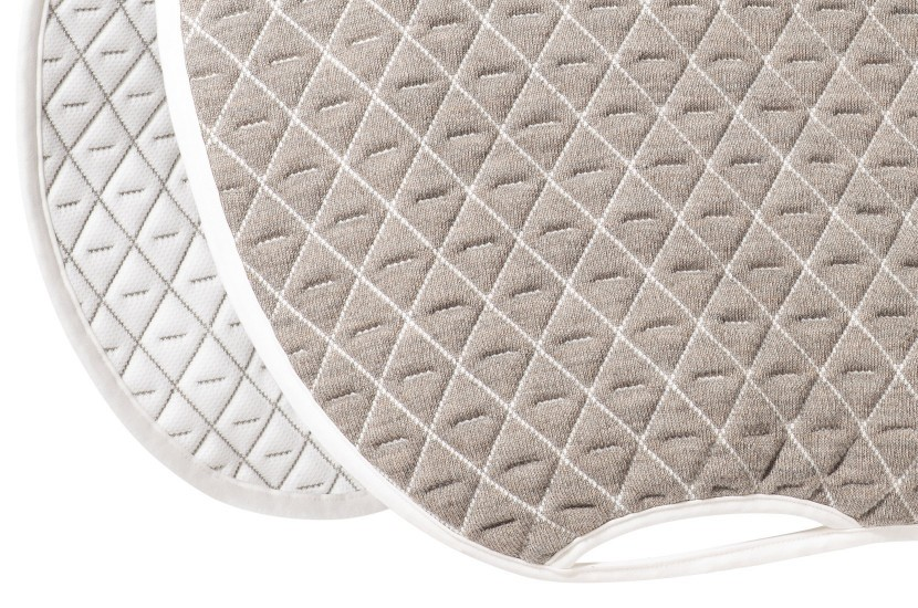 Tacante Tapis de selle INFI-KNIT mixte nature