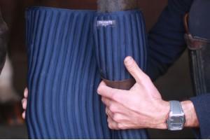 Tacante flanelles INFI-KNIT bleu marine