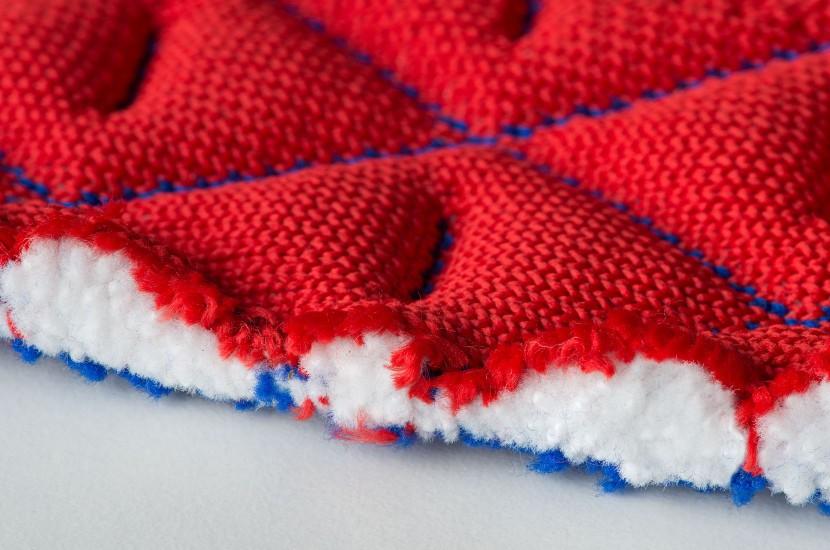 Tapis de selle INFI-KNIT France zoom tricotage 3D