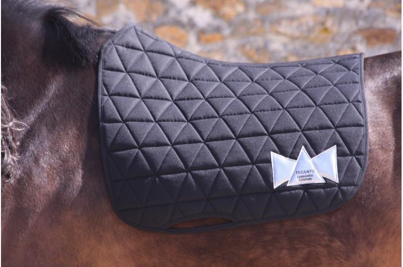 Tacante x Lamantia tapis de selle EXCEL-ANSE dressage noir cheval bai
