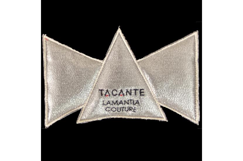 Tacante x Lamantia tapis de selle EXCEL-ANSE écusson argenté