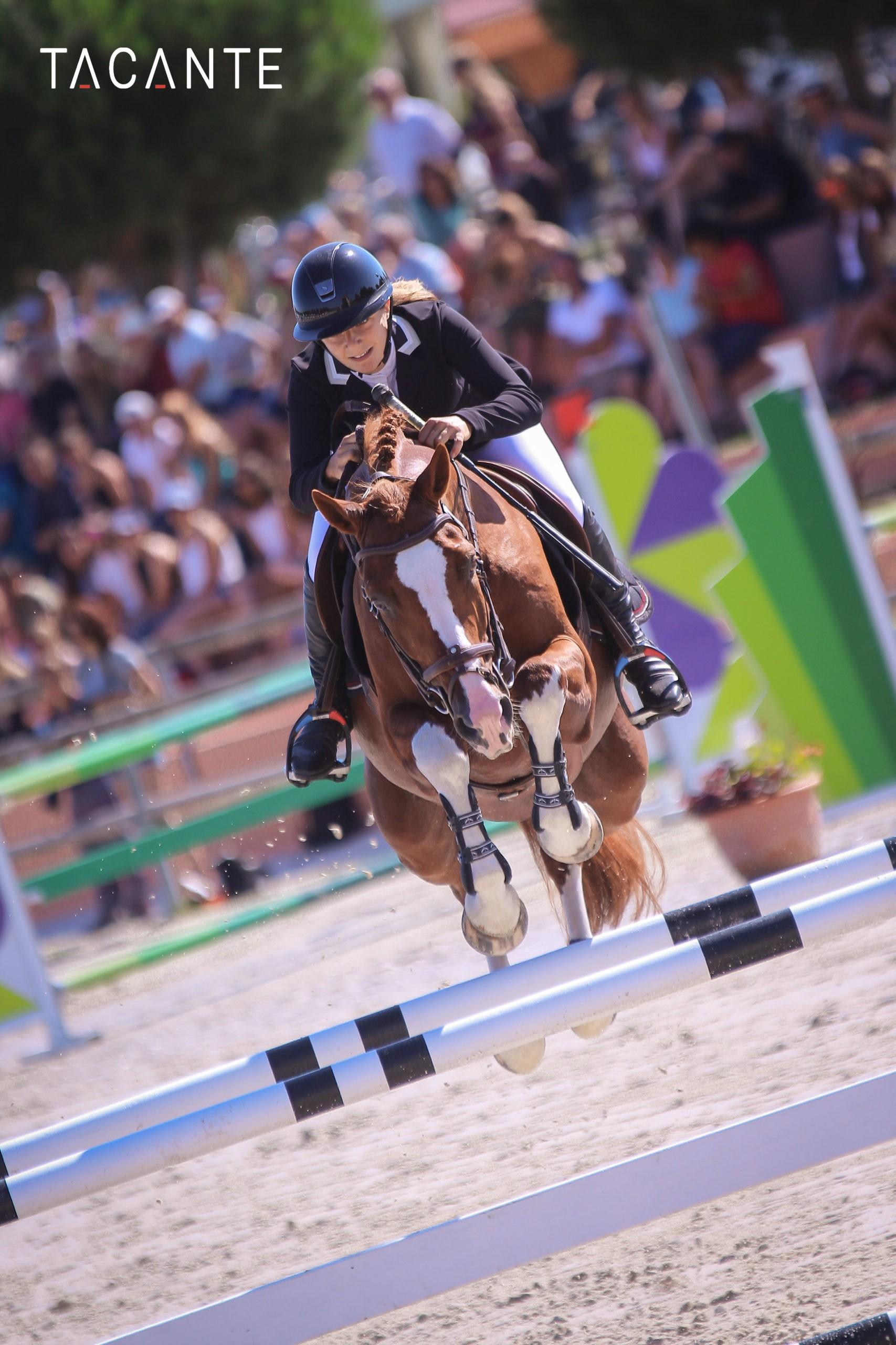 Interview du poney Thabor Kersidal et de sa cavalière Camille Collet-Vidal