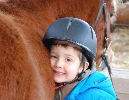 Parents : les bienfaits de l'équitation