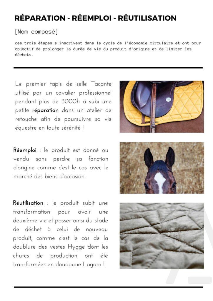 Tacante-Réparation Réemploi Réutilisation